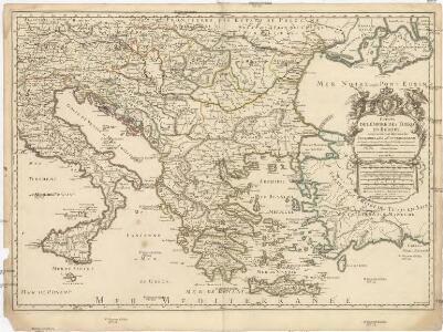 Estats de l'empire des Turqs en Europe