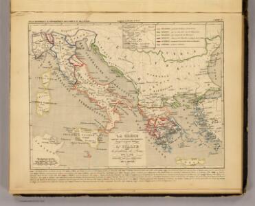La Grece, l'Italie, 1190 a 504 av. J.C.