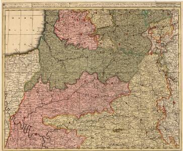 Area Bella Gerentium in Gallia et Belgio :