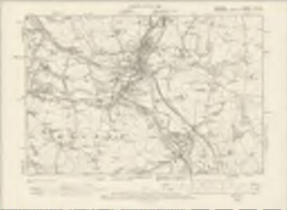 Cheshire XX.SE - OS Six-Inch Map