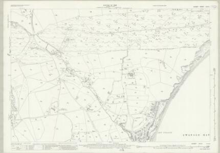 Dorset LVII.5 (includes: Studland; Swanage) - 25 Inch Map