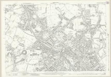 Staffordshire LXVIII.10 (includes: West Bromwich) - 25 Inch Map