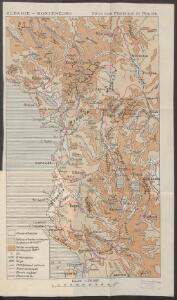 Albanie - Monténégro: Structure Physique et Routes