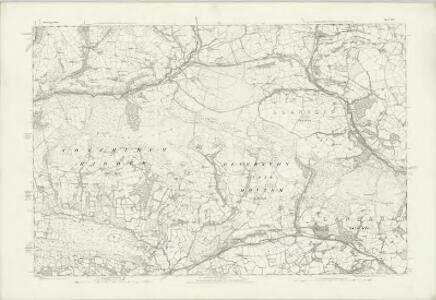Glamorgan XXXIV - OS Six-Inch Map