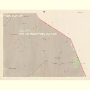 Sattel (Sedloňow) - c6810-1-006 - Kaiserpflichtexemplar der Landkarten des stabilen Katasters