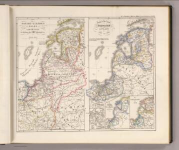 Die Ostsee-Laender, Polen und Litthauen im Aufange des XIIIten. Jahrhunderts.