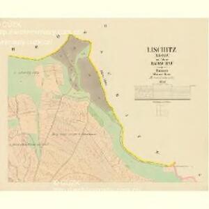 Lischitz (Lissiz) - c4139-1-002 - Kaiserpflichtexemplar der Landkarten des stabilen Katasters