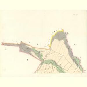 Wolfsdorf (Wilkowa) - m2785-1-001 - Kaiserpflichtexemplar der Landkarten des stabilen Katasters