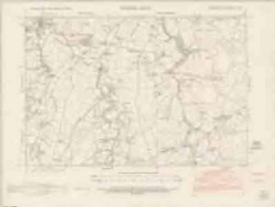 Denbighshire XII.NW - OS Six-Inch Map