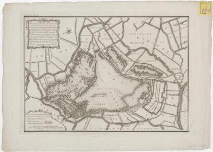 Nieuwe kaart van de gecombineerde Nieukoopsche Plas, geleegen onder Nieukoop, Zevenhoven, Nieuveen, Schoot, de Graaflykheid, Korteraar, en Aarlanderveen, mitsgaders van de plassen ten noord-oosten onder Zevenhoven, Nieveen, Kalslagen, Uitterbuurt, en de p