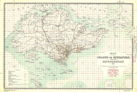 Singapore and its dependencies [Map of the isle] (1911)