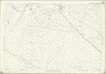 Yorkshire CXXXV.10 (includes: Appletreewick; Bewerley; Thornthwaite With Padside) - 25 Inch Map