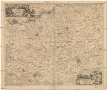 LIMBURGI Ducatus et Comitatus Nova Descriptio