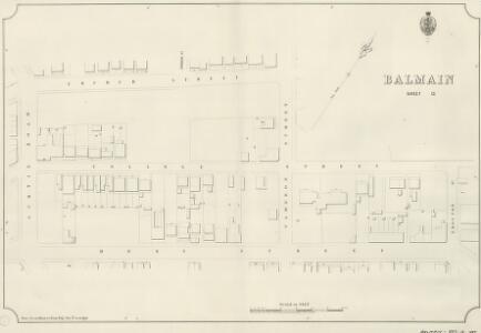 Balmain, Sheet 13, 1889