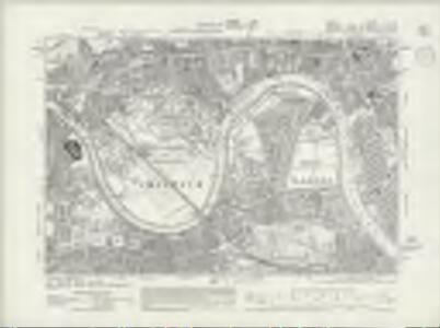 Surrey II.SW - OS Six-Inch Map