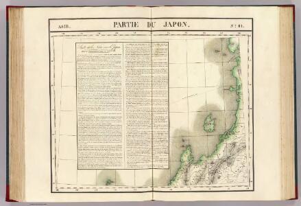 Partie du Japon. Asie 61.