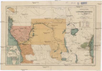 Carte Politique De Lafrique Centrale.Carte Politique De L Afrique Centrale