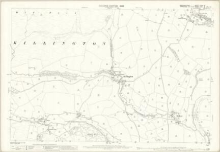 Westmorland XXXIX.16 (includes: Killington; Middleton; Sedbergh) - 25 Inch Map