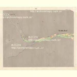 Karlsdorf (Karlowawes) - m1153-1-007 - Kaiserpflichtexemplar der Landkarten des stabilen Katasters