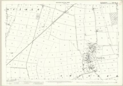 Nottinghamshire XXVI.10 (includes: North Collingham; South Scarle; Swinderby) - 25 Inch Map