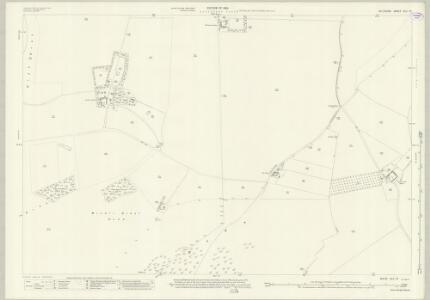 Wiltshire XLV.10 (includes: Bratton; Edington) - 25 Inch Map