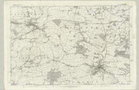 Wiltshire LXV - OS Six-Inch Map