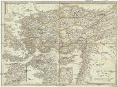 Asia minor, Syria, Cyprus, Creta & insulae maris Aegaei