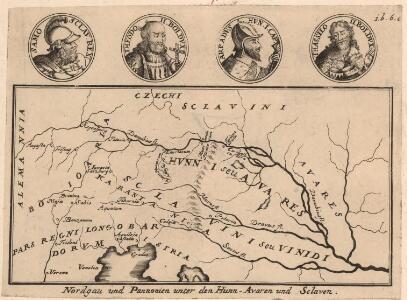 Nordgau und Pannonien unter den Hunn-Avaren und Sclaven