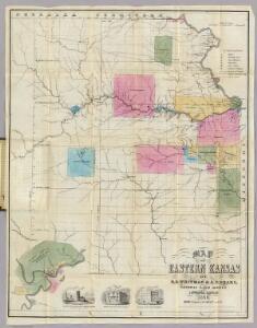 Map Of Eastern Kansas.