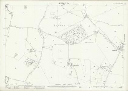 Berkshire XXVII.9 (includes: Beedon; Chieveley; Hampstead Norris; Peasemore) - 25 Inch Map