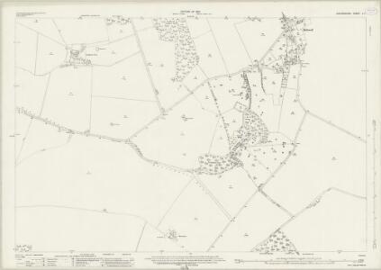 Oxfordshire L.1 (includes: Brightwell Baldwin; Britwell; Ewelme; Swyncombe) - 25 Inch Map