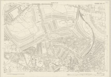 Staffordshire LXXII.11 (includes: Birmingham; Smethwick; Warley Woods) - 25 Inch Map