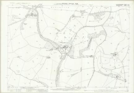 Gloucestershire VIII.6 (includes: Admington; Ebrington; Ilmington) - 25 Inch Map