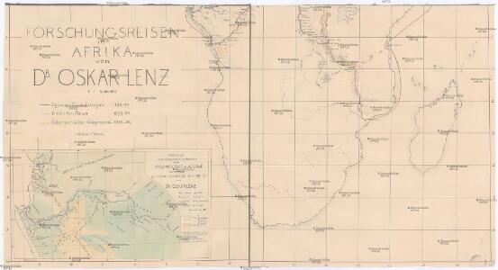 Forschungsreisen in Afrika von Dr. Oskar Lenz