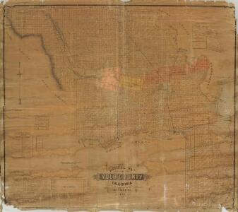 Official Map of Yolo County, California, 1891.