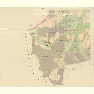Habartitz (Habartic) - c1731-1-003 - Kaiserpflichtexemplar der Landkarten des stabilen Katasters