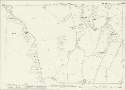 Kent XV.16 & 15 (includes: Beckenham; Croydon St John The Baptist; Orpington) - 25 Inch Map