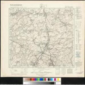 Meßtischblatt 6607 : Heusweiler, 1942