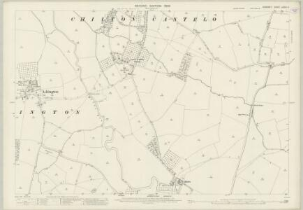 Somerset LXXXIII.2 (includes: Chilton Cantelo; Marston Magna; Mudford; West Camel) - 25 Inch Map