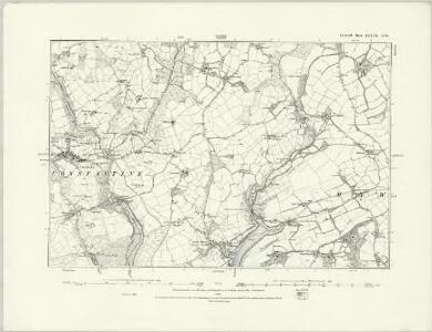 Cornwall LXXVII.SW - OS Six-Inch Map