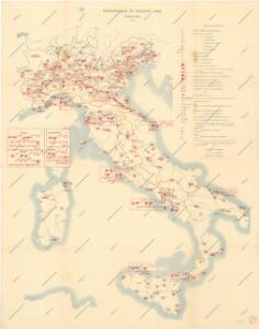 Friedensdislokation der italienischen Armee