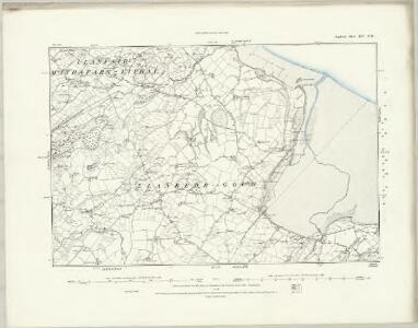 Anglesey XIV.SE - OS Six-Inch Map