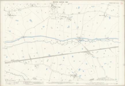 Cheshire XLVII.12 (includes: Beeston; Huxley; Tattenhall; Tiverton) - 25 Inch Map