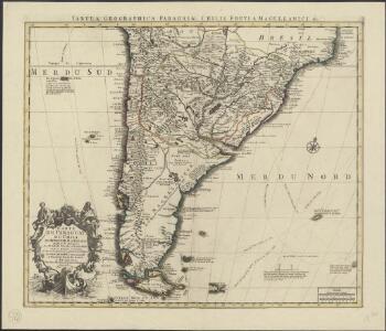 Carte du Paraguay, du Chili, du Detroit de Magellan &c.