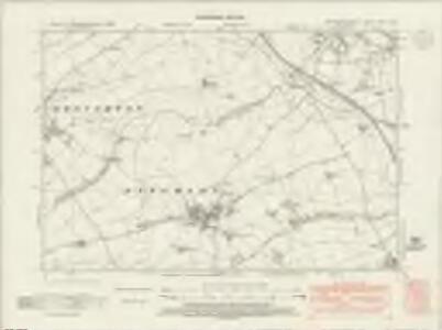 Northamptonshire XXXII.NW - OS Six-Inch Map