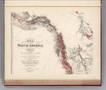 Facsimile:  Faden's Map North America (portion).