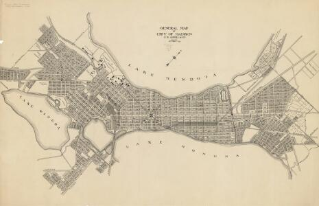 General map of city of Madison