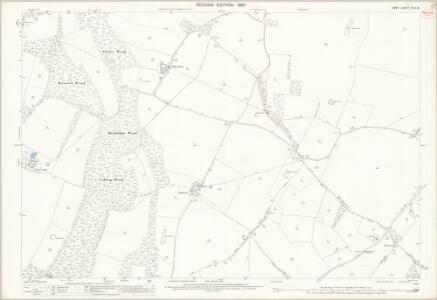 Kent XLIV.16 (includes: Stalisfield; Throwley; Westwell) - 25 Inch Map