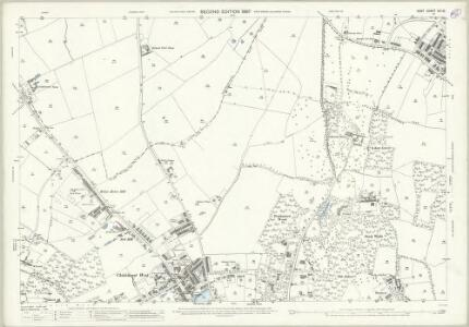Kent VIII.10 (includes: Borough Of Woolwich; Chislehurst and Sidcup) - 25 Inch Map