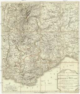 Carte de la Savoie ou supplément a la carte de frontieres de la République Française